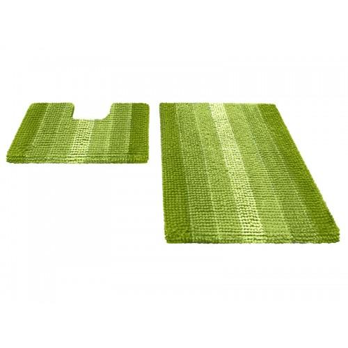 Купить Набор ковриков для ванной MULTIMAKARON зеленый, SHAHINTEX по цене от 2 390 Р. с доставкой