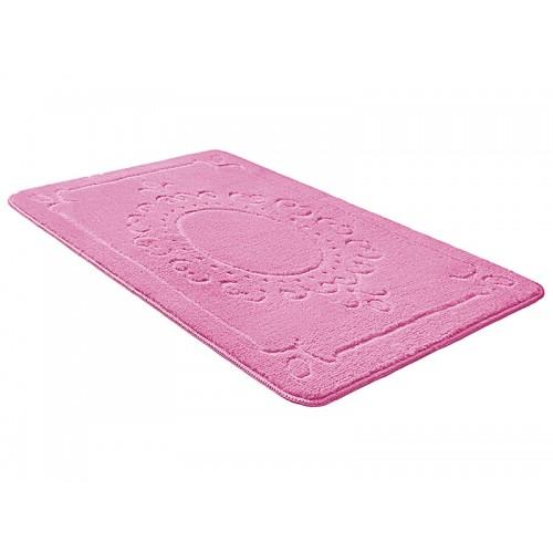 Купить Коврик для ванной ВЕРСАЛЬ розовый, SHAHINTEX по цене от 857 Р. с доставкой