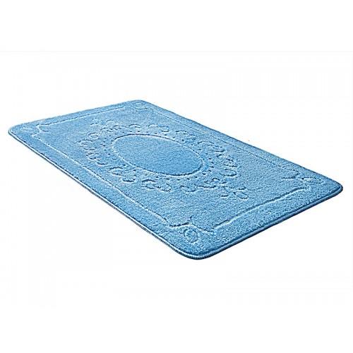 Купить Коврик для ванной ЭКО голубой, SHAHINTEX по цене от 891 Р. с доставкой