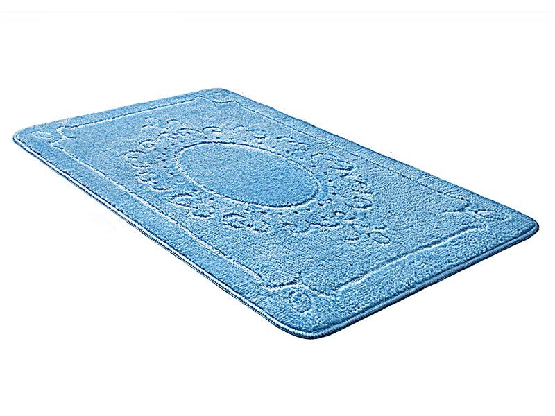 Коврик для ванной ЭКО голубой, SHAHINTEX