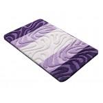 Купить Коврик для ванной РР MIX 4K фиолетовый, SHAHINTEX по цене от 1 083 Р. с доставкой