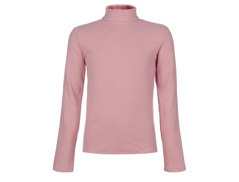 Водолазка для девочки светло-розовая, NOA