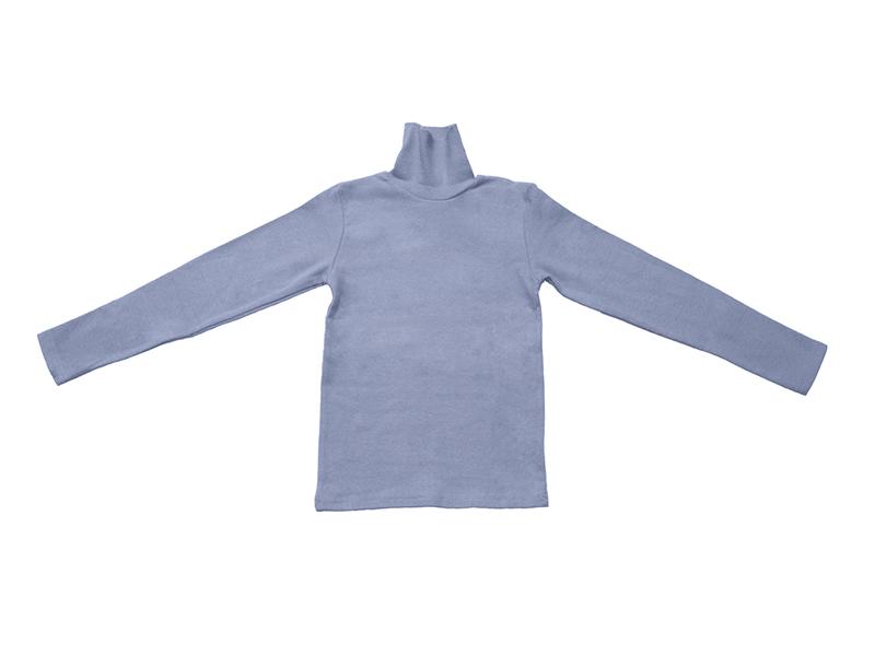 Водолазка для мальчика серо-голубая, NOA