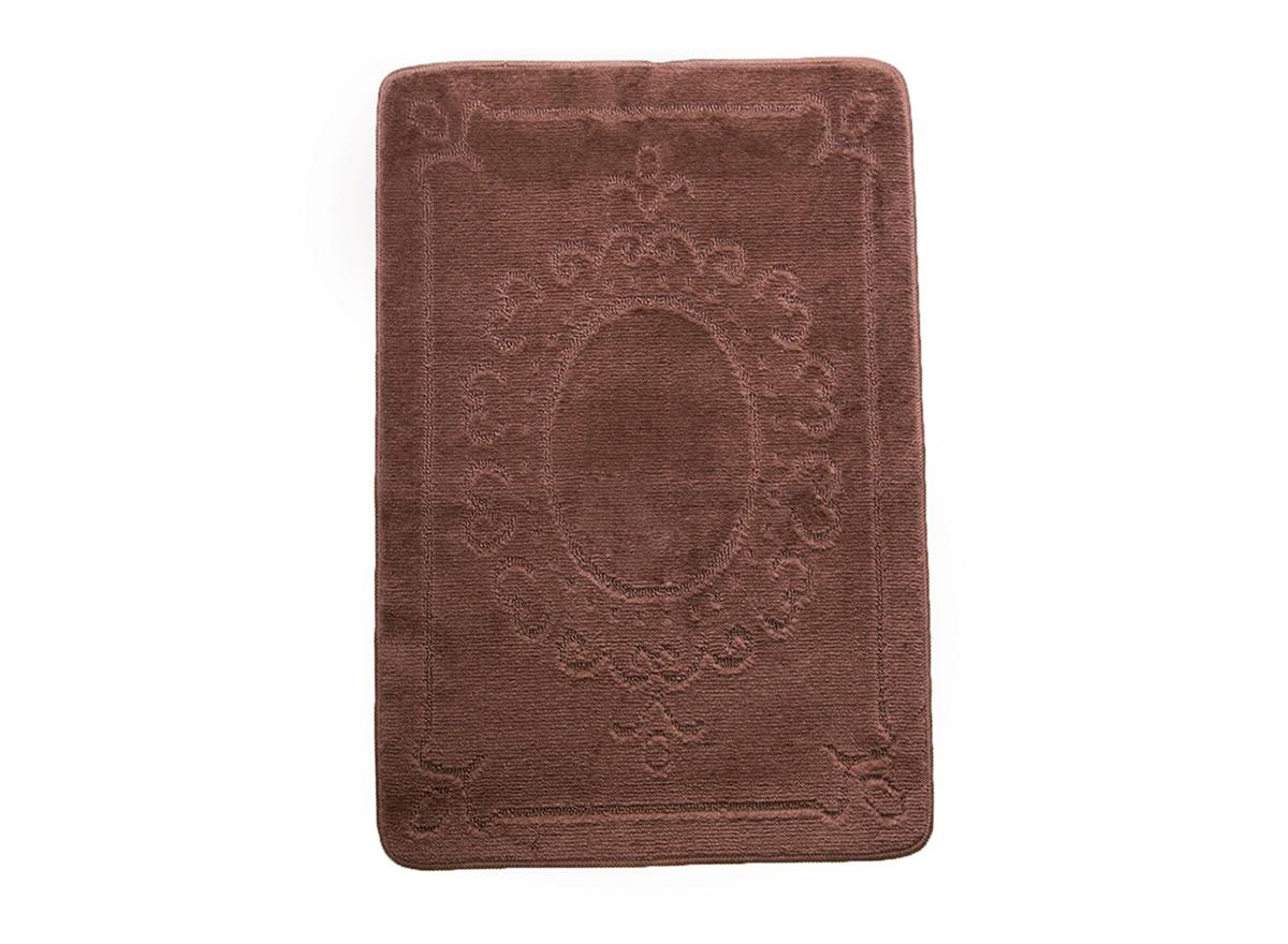 Коврик для ванной ВЕРСАЛЬ шоколадный, SHAHINTEX