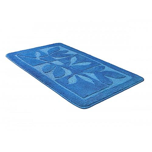 Купить Коврик для ванной МАНХЕТТЕН синий, SHAHINTEX по цене от 857 Р. с доставкой