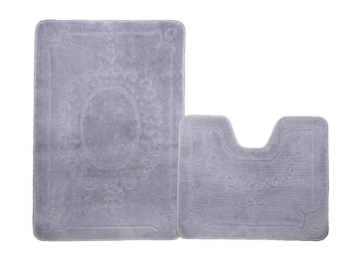 Набор ковриков для ванной ВЕРСАЛЬ серый, SHAHINTEX