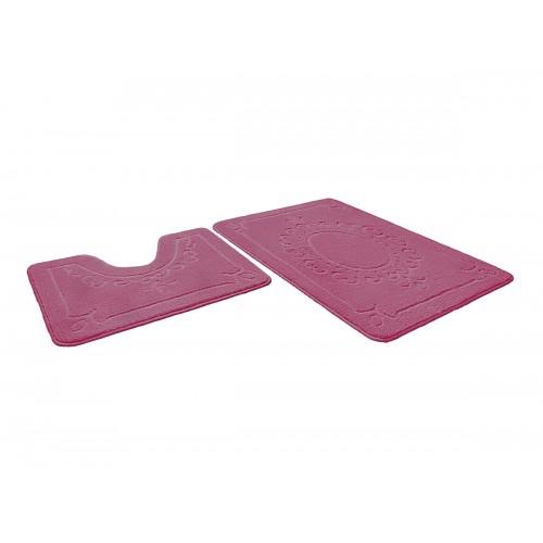 Купить Набор ковриков для ванной ВЕРСАЛЬ розовый, SHAHINTEX по цене от 1 246 Р. с доставкой