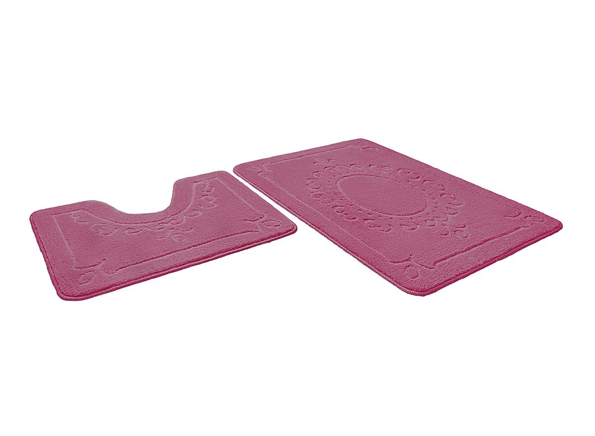 Набор ковриков для ванной ВЕРСАЛЬ розовый, SHAHINTEX