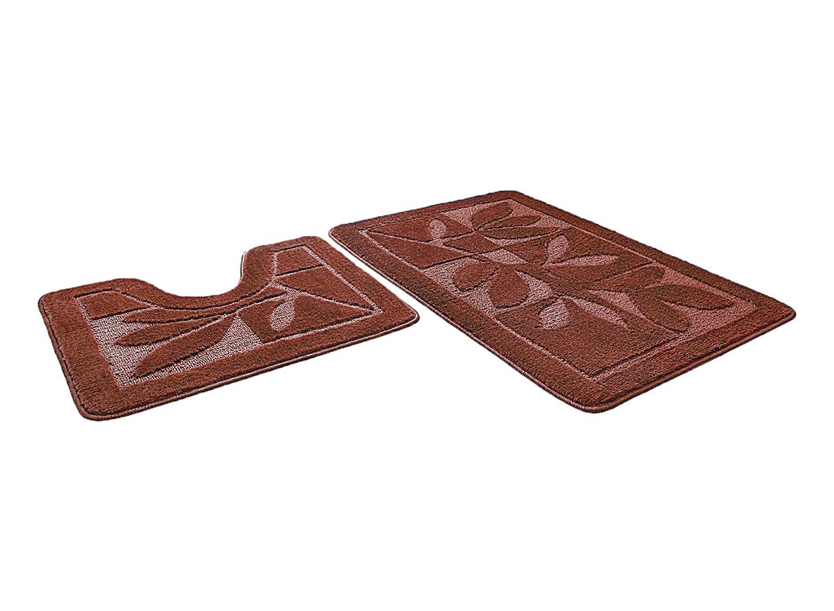 Набор ковриков для ванной МАНХЕТТЕН шоколадный, SHAHINTEX