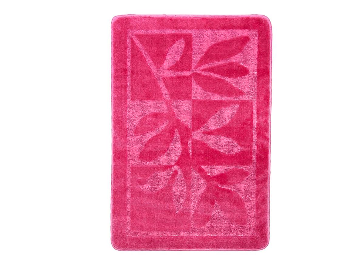 Коврик для ванной ЭКО 60х90 розовый, SHAHINTEX