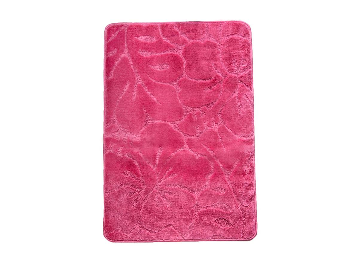 Коврик для ванной ФЛОРЕНЦИЯ розовый, SHAHINTEX