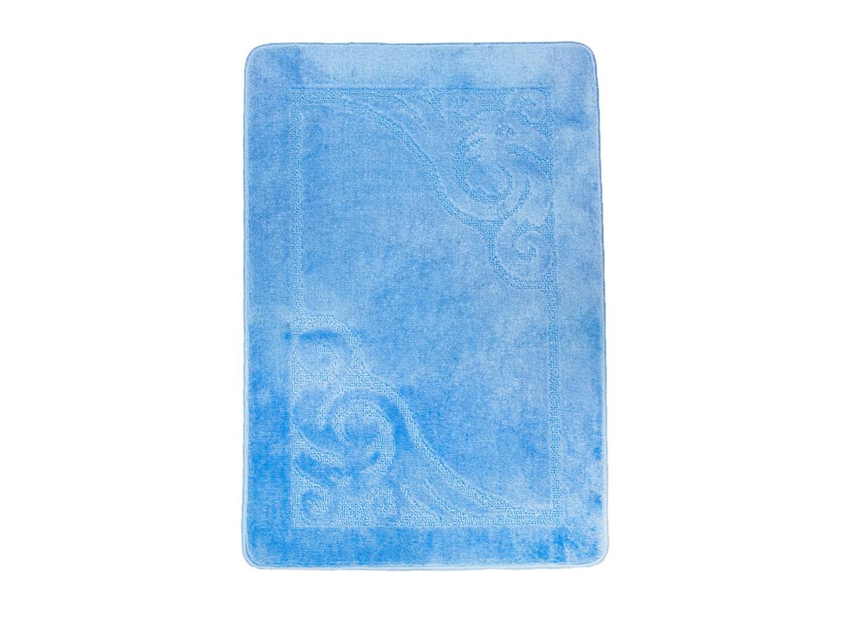 Коврик для ванной ВЕНЕЦИЯ голубой, SHAHINTEX
