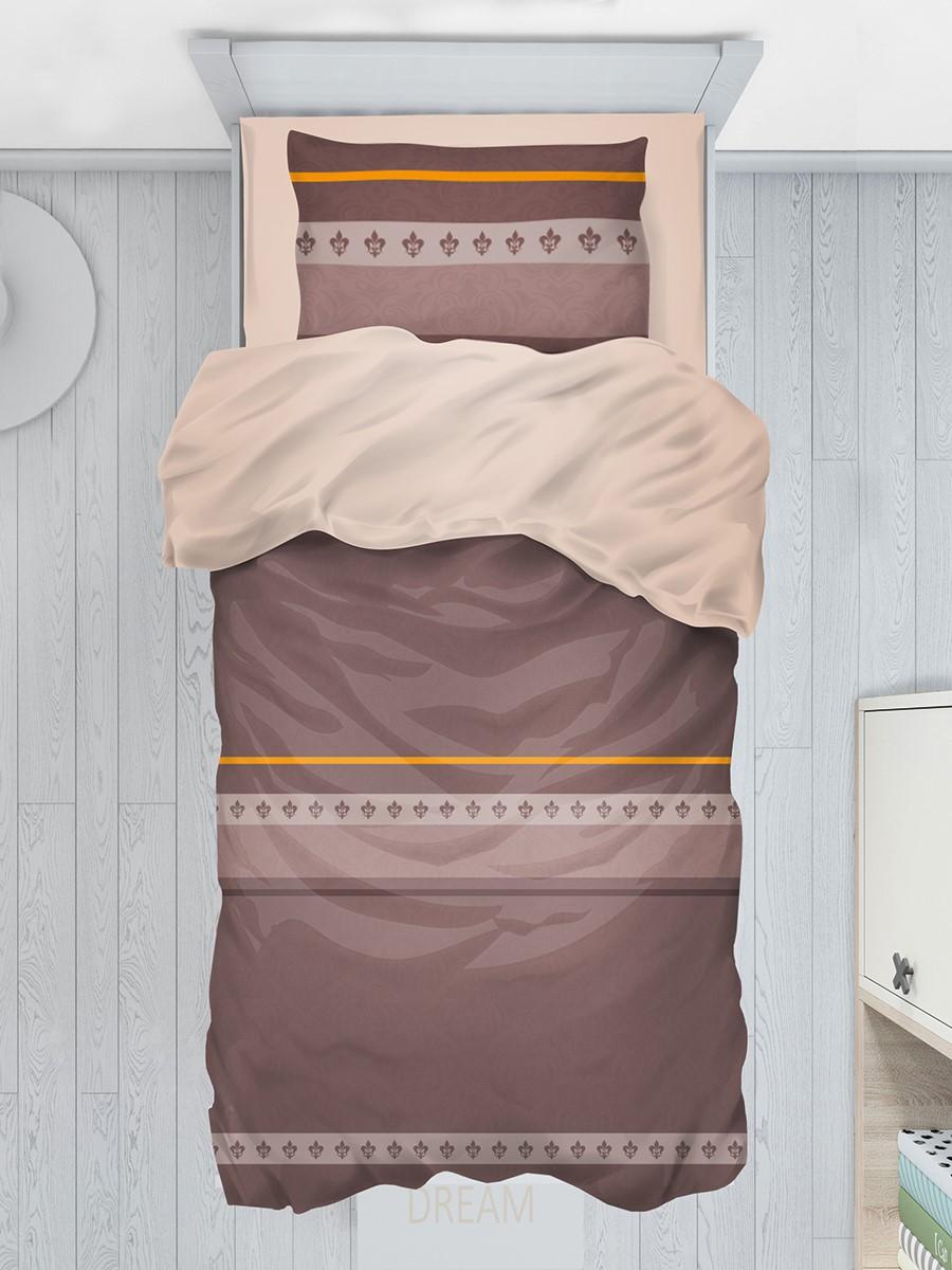 """Комплект постельного белья из поплина """"Шоколад"""", ЭГО"""