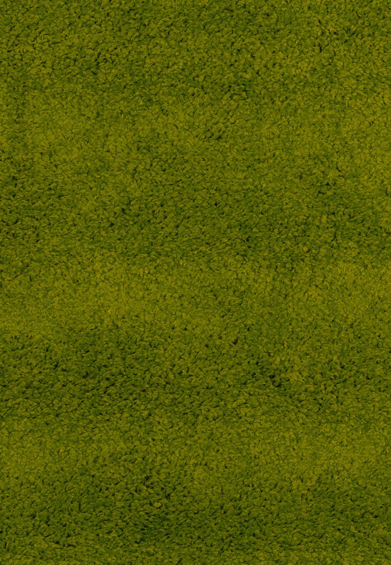 Ковер ворсовый SHAGGY зеленый (овал)