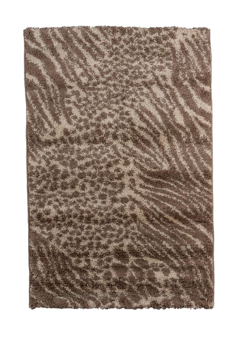 Ковер ворсовый SHAGGY бежевый/коричневый