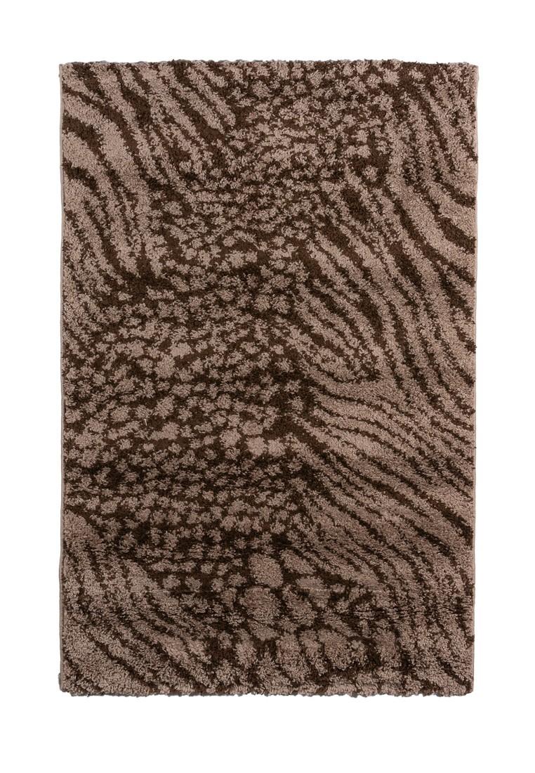Ковер ворсовый SHAGGY коричневый