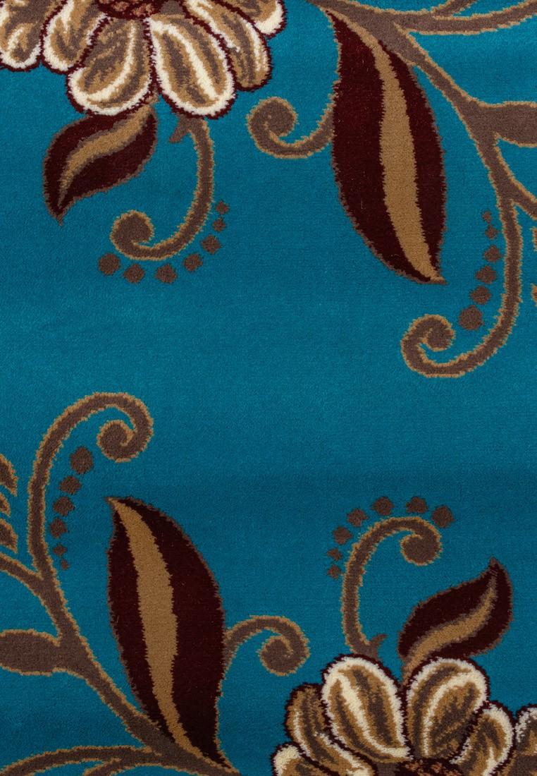 Ковер ворсовый ORHIDEA голубой/беж УК-1040