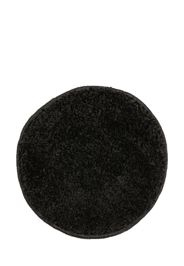Табуретник SHAGGY круглый черный 35х35 арт. УК-1003-10