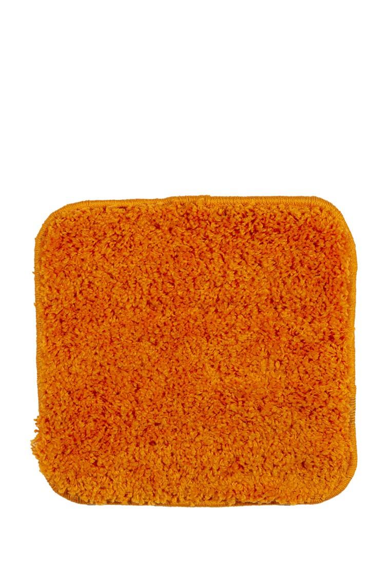 Табуретник SHAGGY квадратный оранжевый 35х35 арт. УК-1005-09