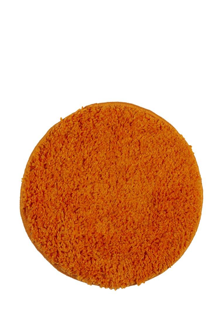 Табуретник SHAGGY круглый оранжевый 35х35 арт. УК-1005-10