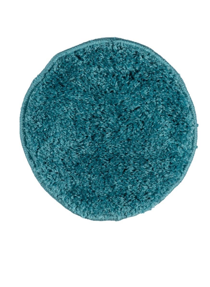 Табуретник SHAGGY круглый синий 35х35 арт. УК-1006-10