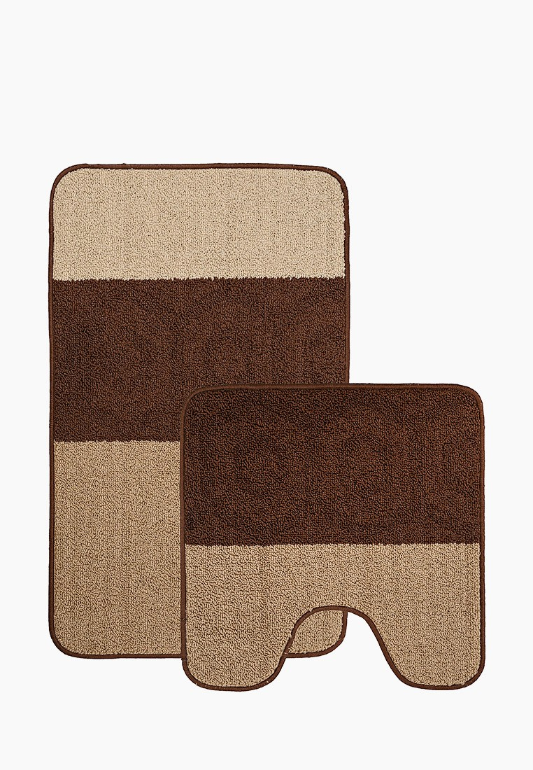 Набор ковриков для ванной комнаты KAMALAK Tekstil УКВ-10102