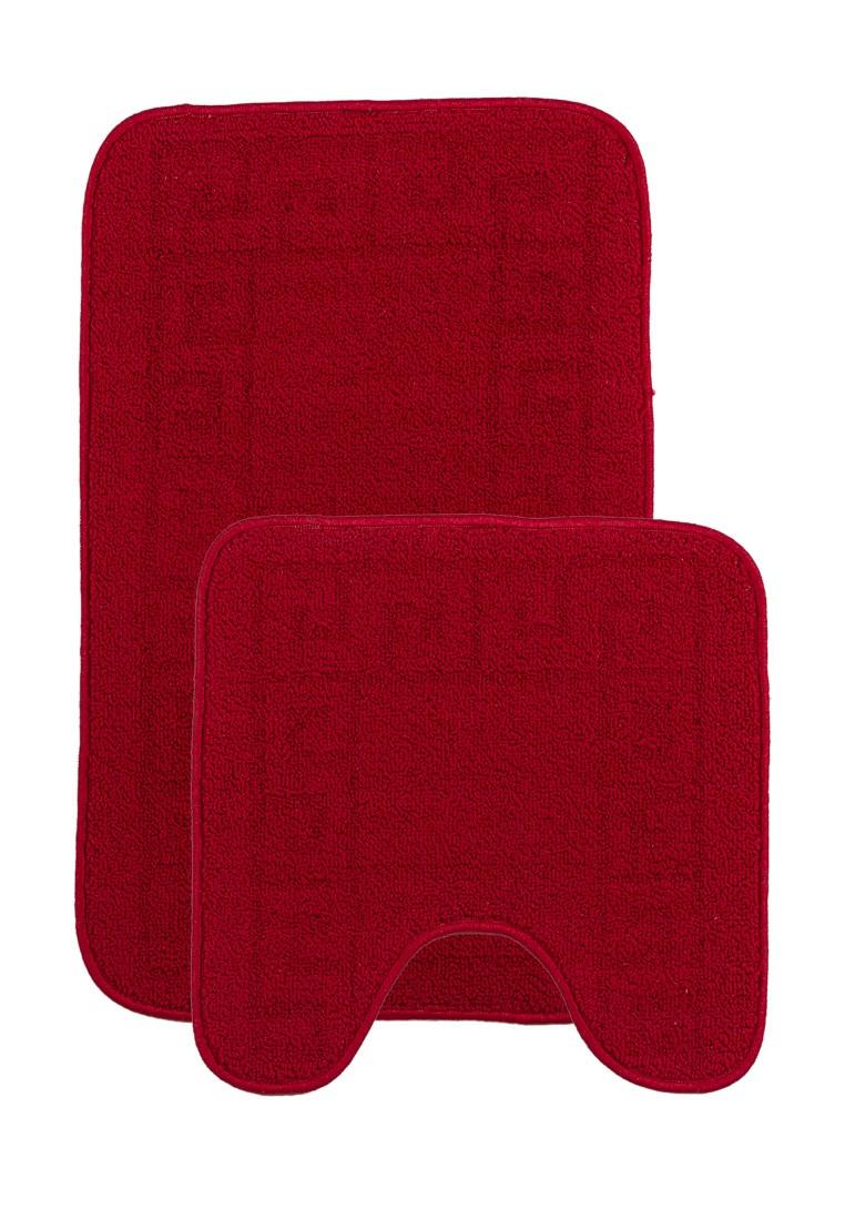 Набор ковриков для ванной комнаты KAMALAK Tekstil УКВ-10106