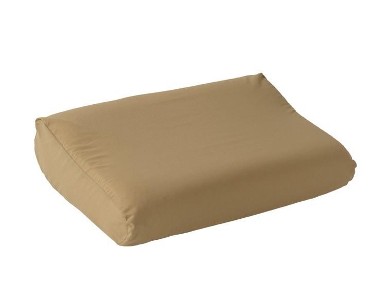 Наволочка для ортопедической подушки из поплина ЭГО кофе