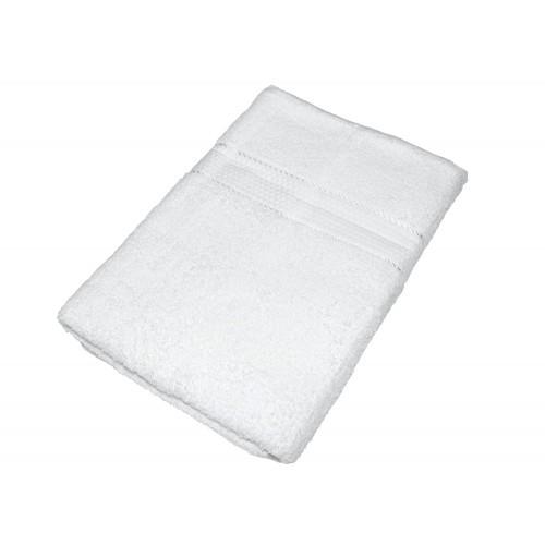Купить Махровое полотенце белое 70х140 хлопок, AISHA по цене от 590 Р. с доставкой