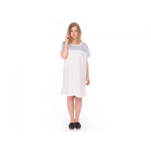 Туника женская, цвет белый+полосы, XS RAV