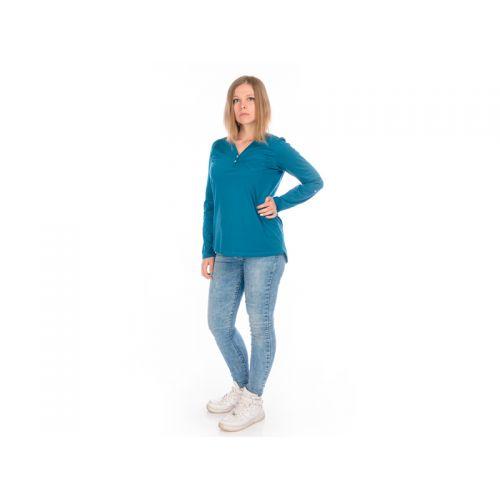 Кофта женская, цвет темно-голубой, размер M RAV