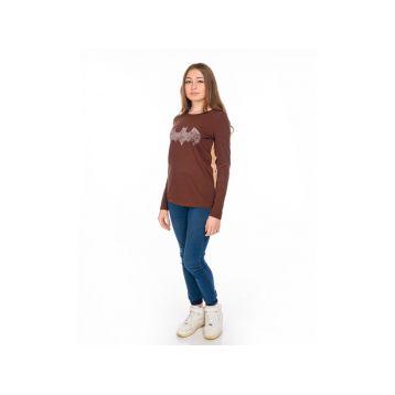Блузка женская, цвет коричневый, размер M RAV