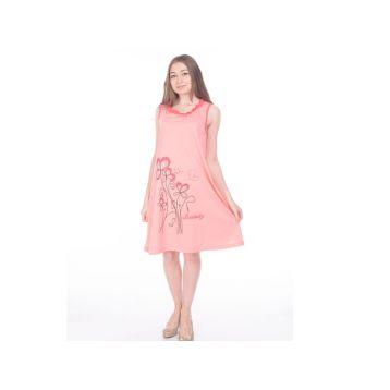 Сорочка ночная женская, цвет персик, размер L RAV
