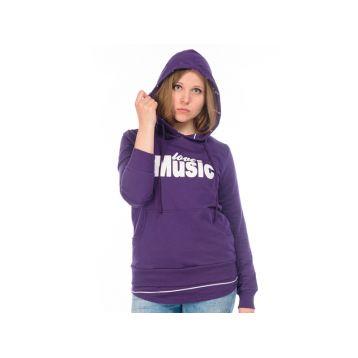 Толстовка женская, цвет фиолетовый L, RAV