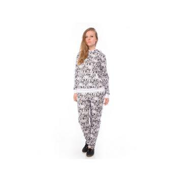Комплект женский, цвет черно-белый L, RAV