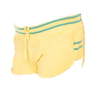 Мини шорты женские, цвет лимон L, RAV