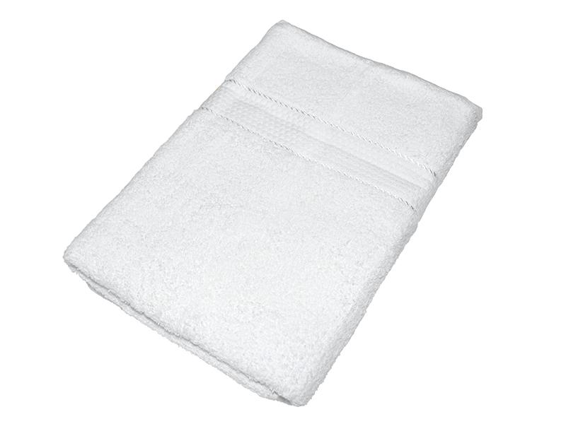 Махровое полотенце белое 50x90 хлопок, AISHA