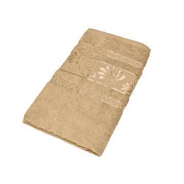 Махровое полотенце подарочное 50х90, AISHA