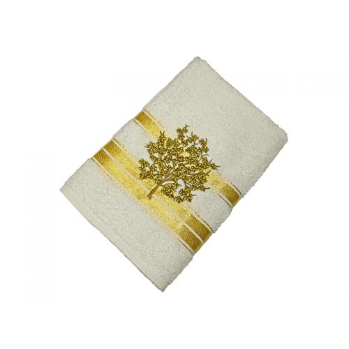 Купить Махровое полотенце подарочное 50х90, AISHA по цене от 310 Р. с доставкой