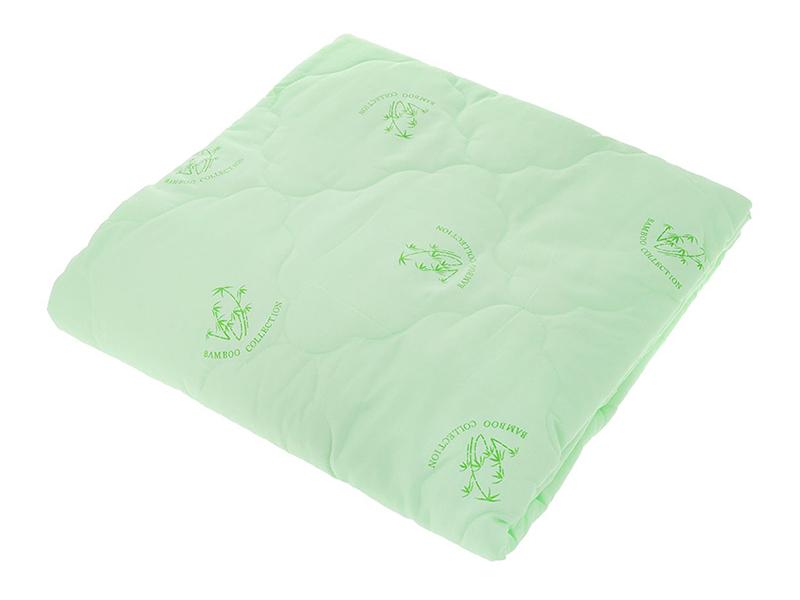"Одеяло зеленое, бамбук 150 г,""ЭГО"""