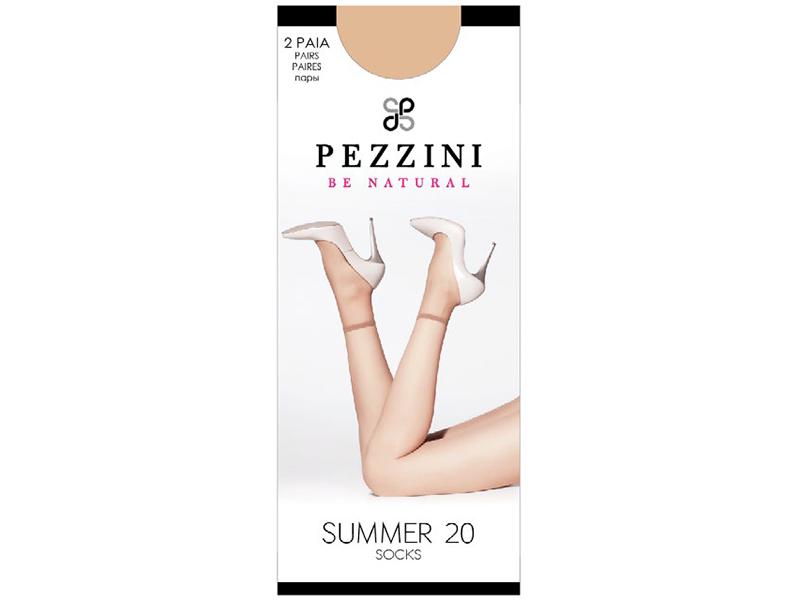 "Носки женские SUMMER 20 (2 пары), ""Pezzini"""