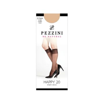 """Гольфы женские HAPPY 20 (2 пары), """"Pezzini"""""""