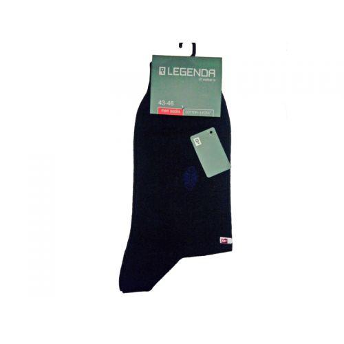 Купить Носки мужские синие, хлопок/эластан, LEGENDA по цене от 124 Р. с доставкой