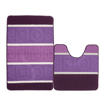 Набор ковриков для ванной KAMALAK Tekstil УКВ-1038