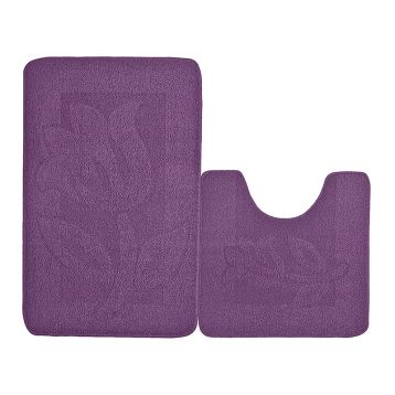 Набор ковриков для ванной KAMALAK Tekstil УКВ-1093