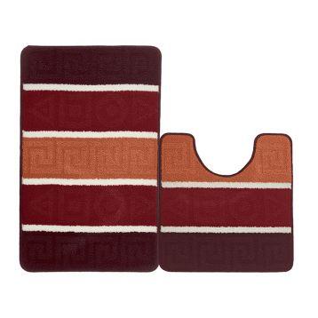 Набор ковриков для ванной KAMALAK Tekstil УКВ-1050