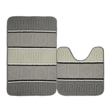 Набор ковриков для ванной KAMALAK Tekstil УКВ-1036