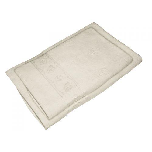 Комплект из 2-х полотенец махра/велюр, AISHA