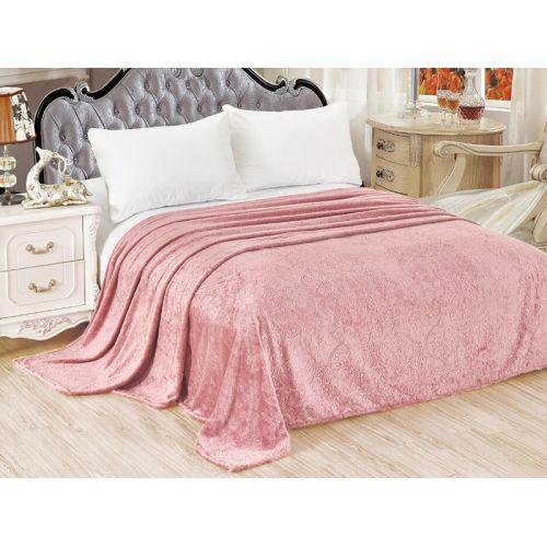 """Купить Покрывало розовое, велсофт, """"ЭГО"""" по цене от 1 836 Р. с доставкой"""