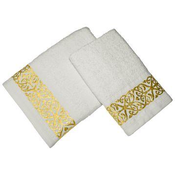 Комплект из 2-х полотенец махровых GOLD
